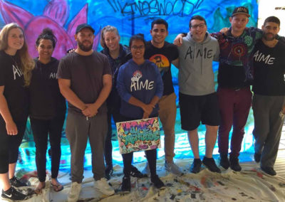 Pat's Project: Mentoring Through Street Art